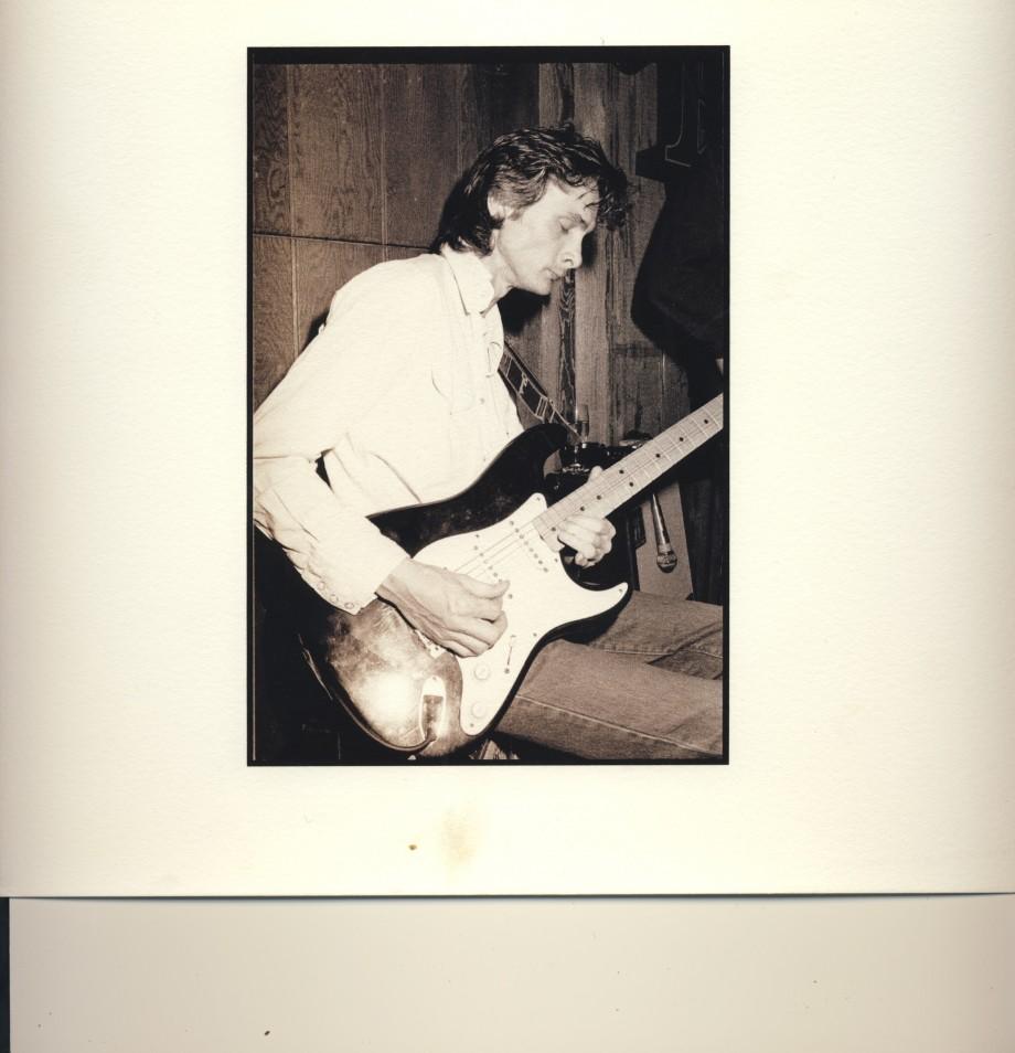 Den bäste gitarristen. Bengan Blomgren.