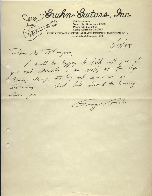 Gruhn brev