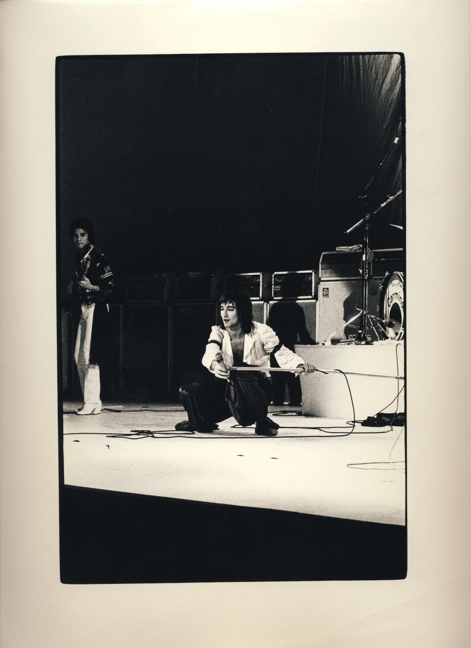 Rod Stewart på Scandinavium. Grym konsert. Ampegvägg.